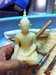 ฺิฺBuddha image made from soap